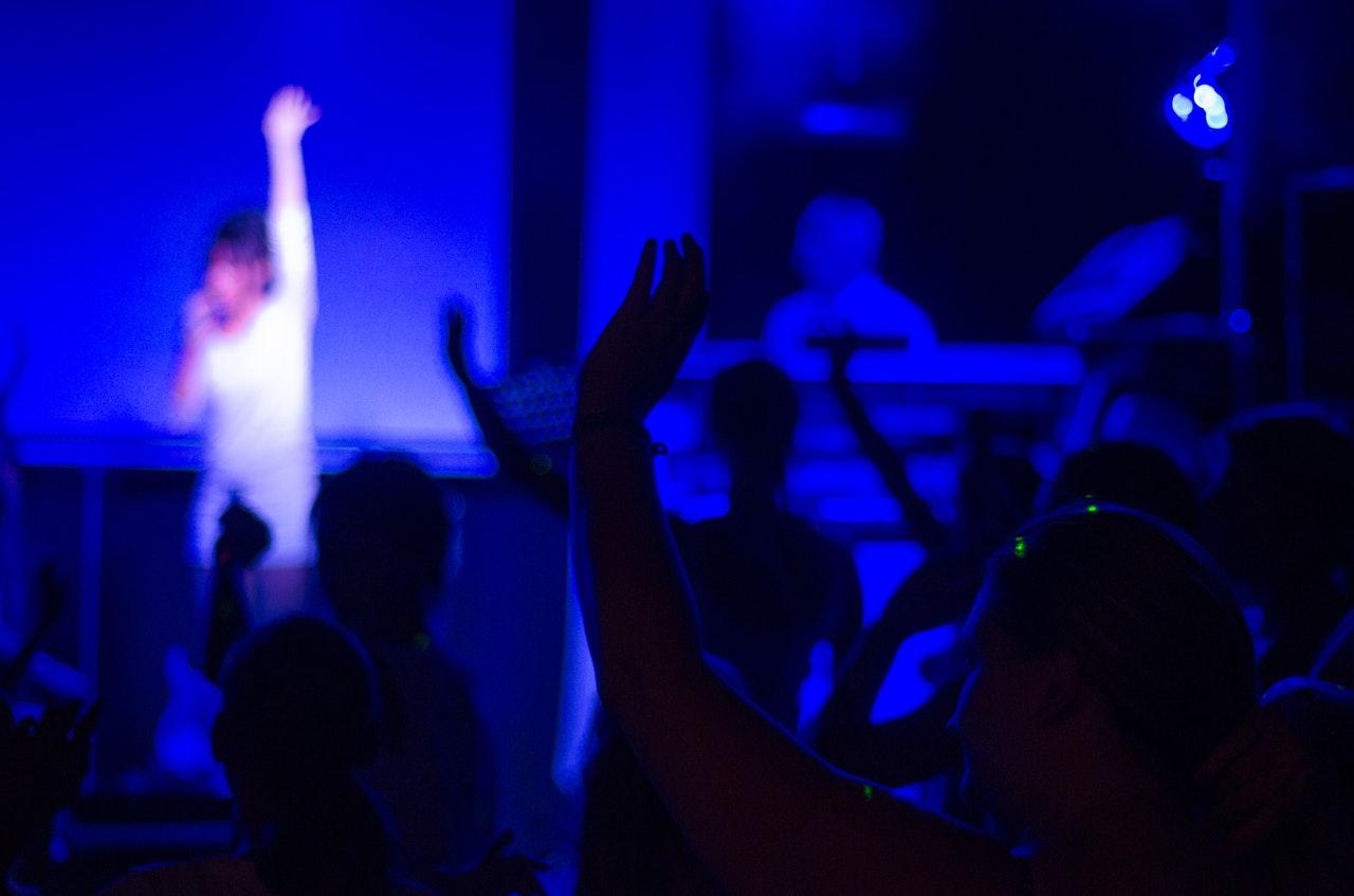 Konsert i blått lys